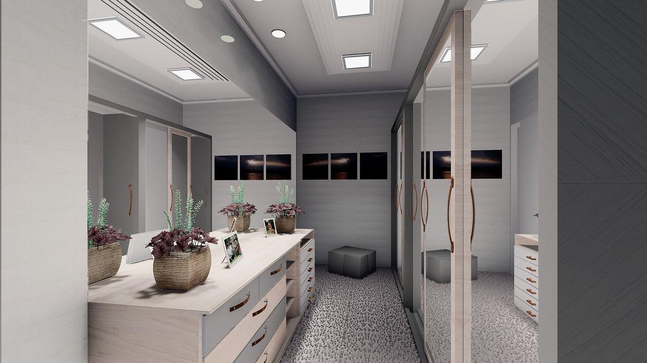 Jak oświetlić pokój z garderobą?